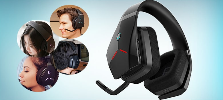Wireless gaming headset for call of duty