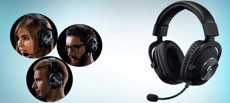 Logitech G Pro X Gaming Headset with Next Generation 7.1 Surround Sound under $100