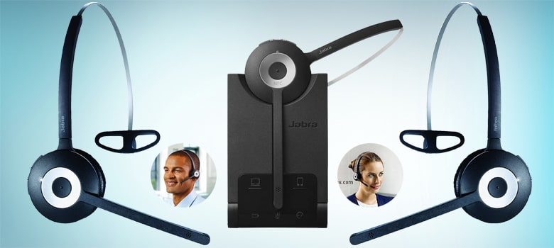 Wireless Headset for Call Center Customer Service Your Agents Softphone
