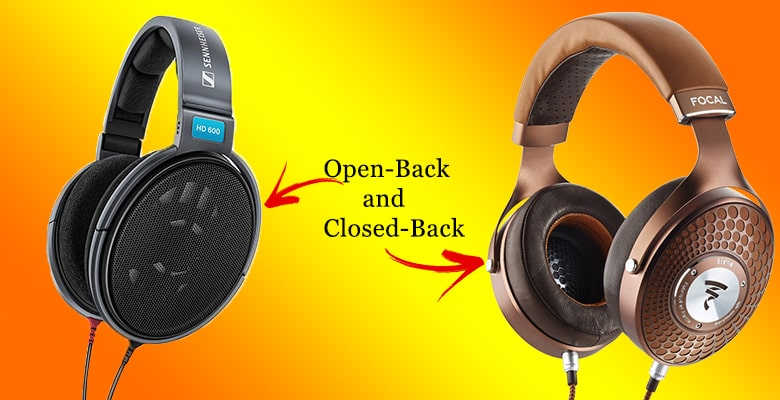 open back headphones wireless headphones/ headsets