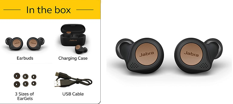 Jabra Elite Active 75t True Wireless Bluetooth Earbuds
