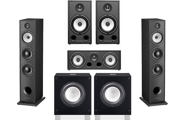 Triangle HiFi Floor Standing Speakers under 5000 dollars