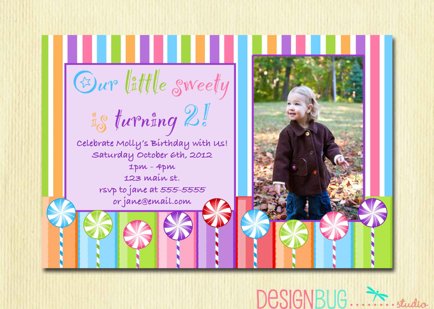 2 year old birthday invitation rhymes