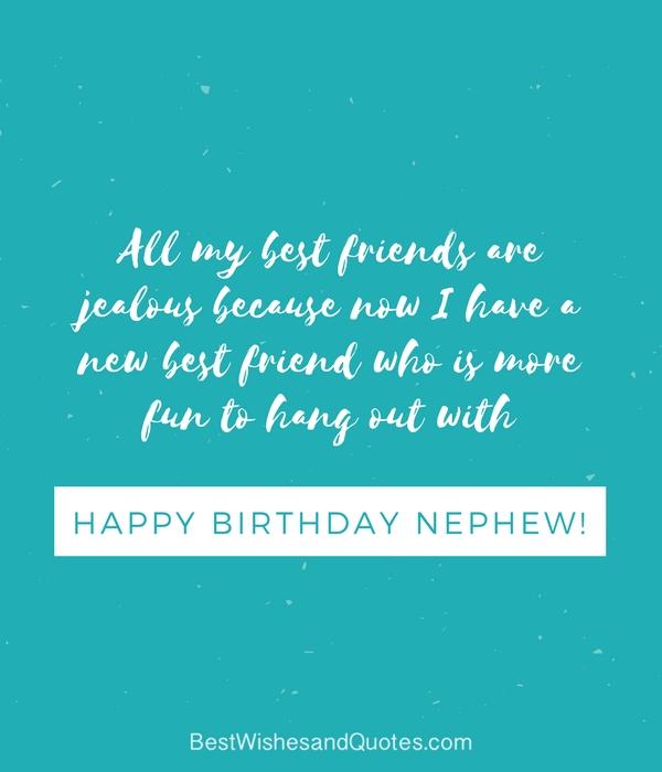 Happy 7th Birthday Nephew Quote