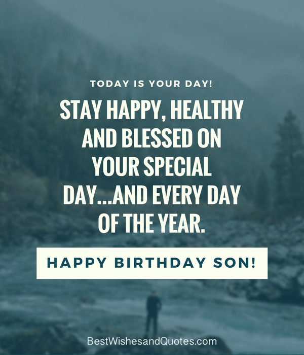 Born Quotes Happy Son Birthday First My