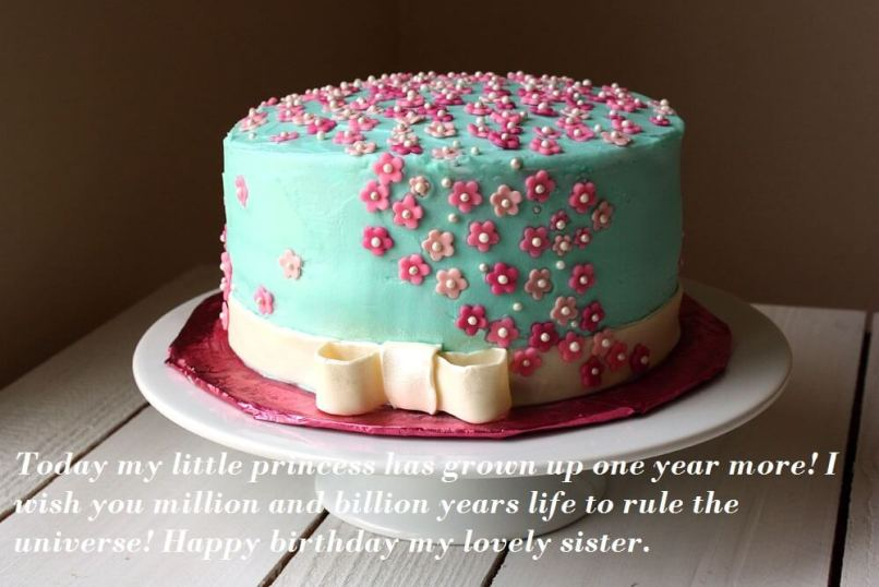 Birthday Cake Images For Younger Sister Imaganationface
