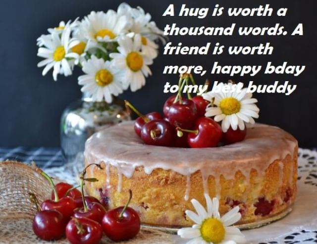Imgenes De Birthday Wishes For Friends Cake With Photo