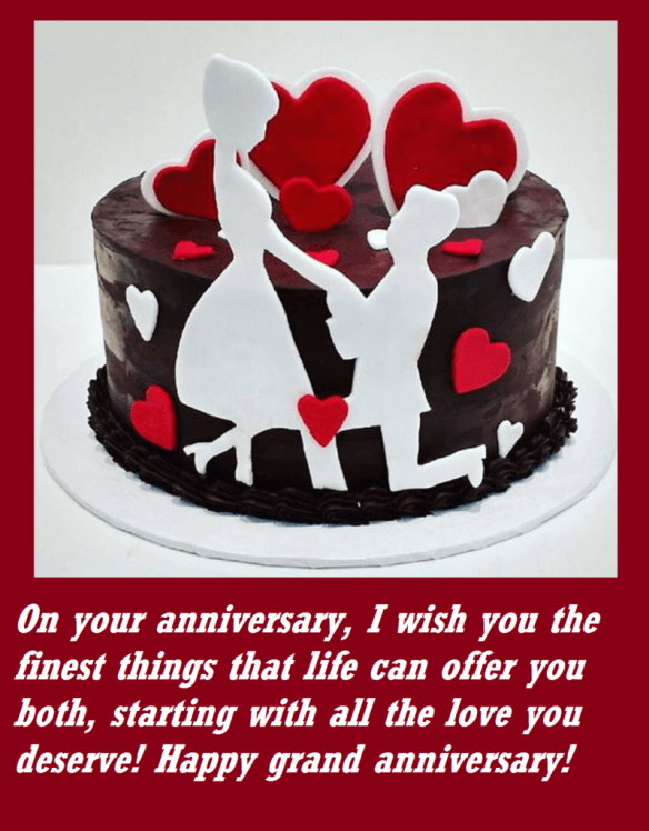 Marriage Anniversary Cake Love Wishes Images Quote Hil