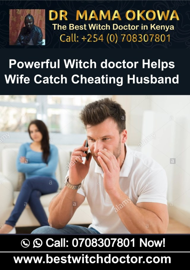 Powerful Witch Doctor Helps Wife Catch Cheating Husband in Kenya