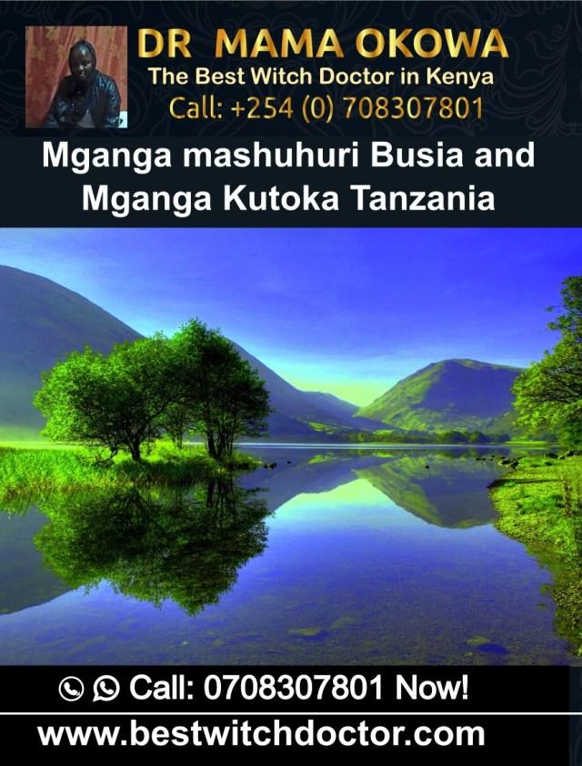 Mganga mashuhuri Busia and Mganga Kutoka Tanzania