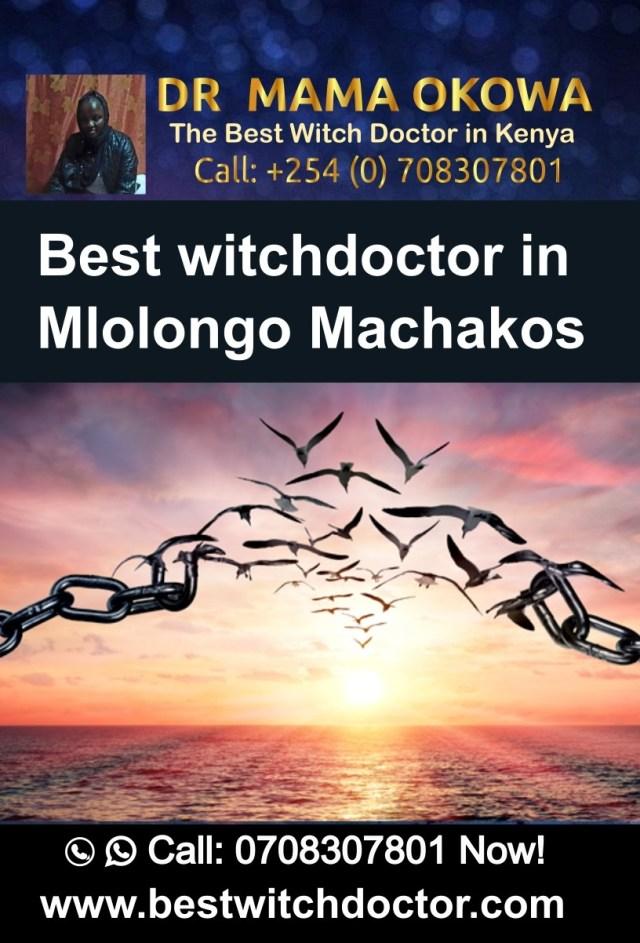 Best witchdoctor in Mlolongo Machakos