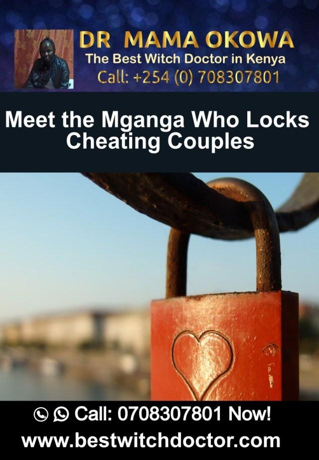 Meet the Mganga Who Locks Cheating Couples Dr. Mama Okowa