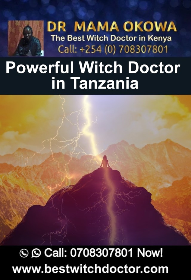 Powerful Witch Doctor in Tanzania