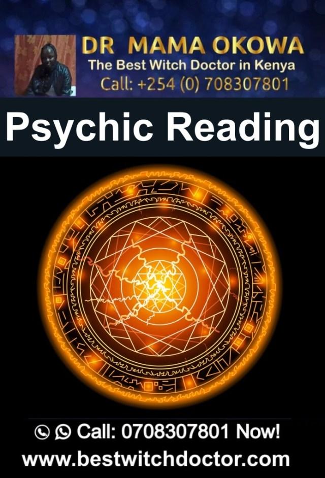 Psychic Reading by Dr. Mama Okowa