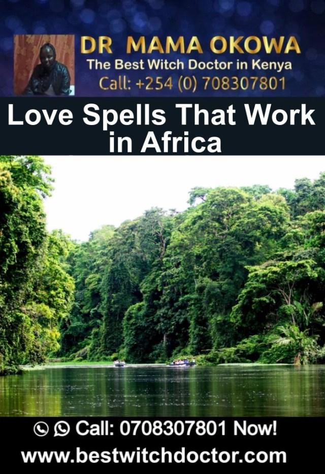 Love Spells That Work in Africa