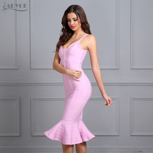 Spaghetti Strap Dress Celebrity Evening Party Dress