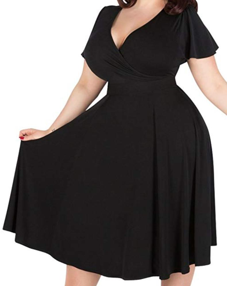 Plus Size Dresses For Women - Look Good on Your Big Day