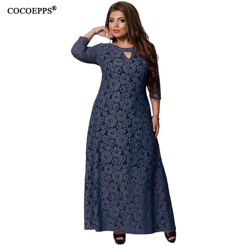 Plus Size Maxi Dresses Come in a Variety of Styles