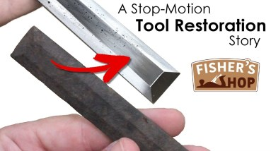 A Stop-Motion Tool Restoration Story
