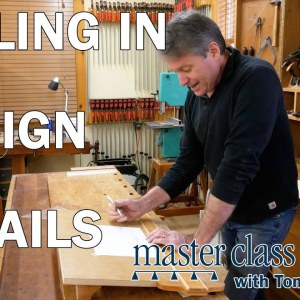 Dialing in design details - Shaker Dresser Episode 1