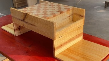 Creative Recycling Ideas // Build The Best & Most Creative Travel Chess Board To Please Everyone