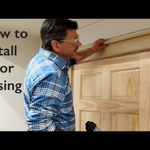 How to Install Door Casing + Design and Make Wood Molding