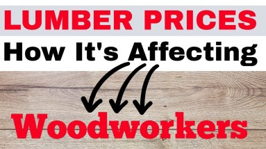 Lumber Prices: Woodworking CRASH (Watch This)
