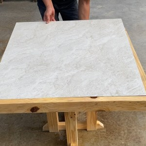 Great Idea With Redundant Background Tiles // Build Coffee Table Or Dining Table For 4 People
