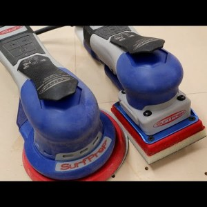 Quick look at my new orbital / palm sander