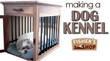 Woodworking: Making a Dog Kennel
