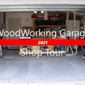 Woodworking Shop Tour (2021 Work Shop Tour)