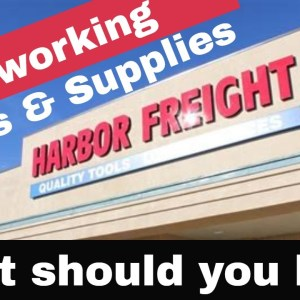 Woodworking Tool Review: Harbor Freight Tools (beginner woodworking 2021)