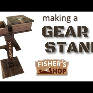 Woodworking: Making A Police Gear Stand