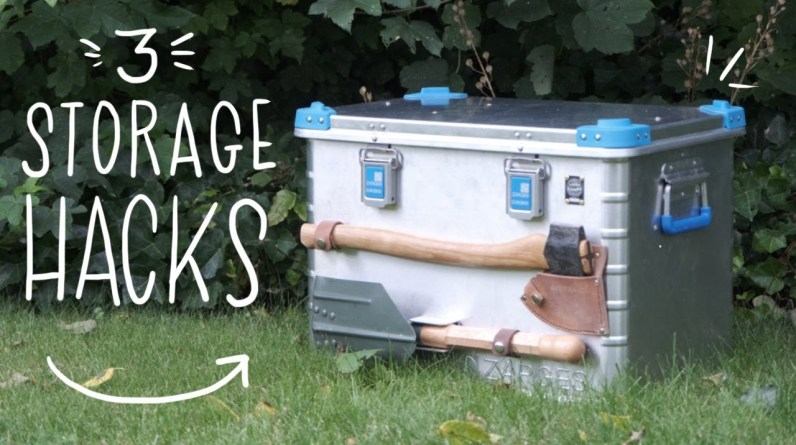 Make the most of your Storage Boxes - 3 Clever Camping Hacks!