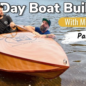 You Should Not Build a Boat Like This || 5 Day Boat Build