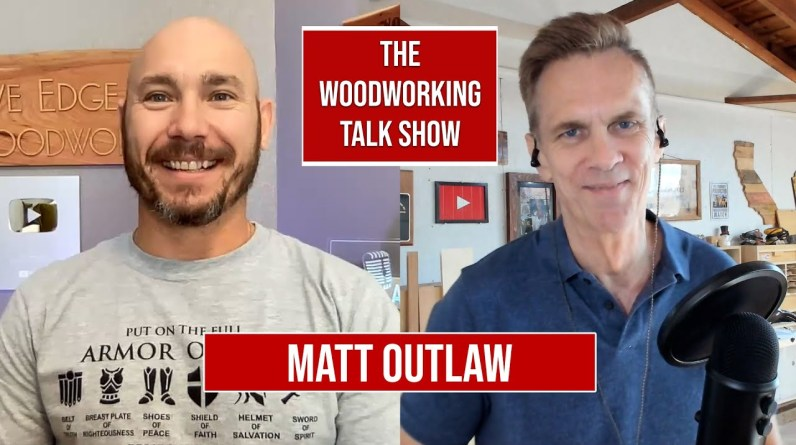 Matt Outlaw of 731 Woodworks: Why he quit his job as a cop to be a YouTuber.