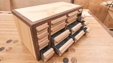 Genius Idea for Making Small Drawers or Beyond Stupid? You Tell Me