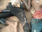 Police gun down three armed robbery suspects, arrest two others (photos)