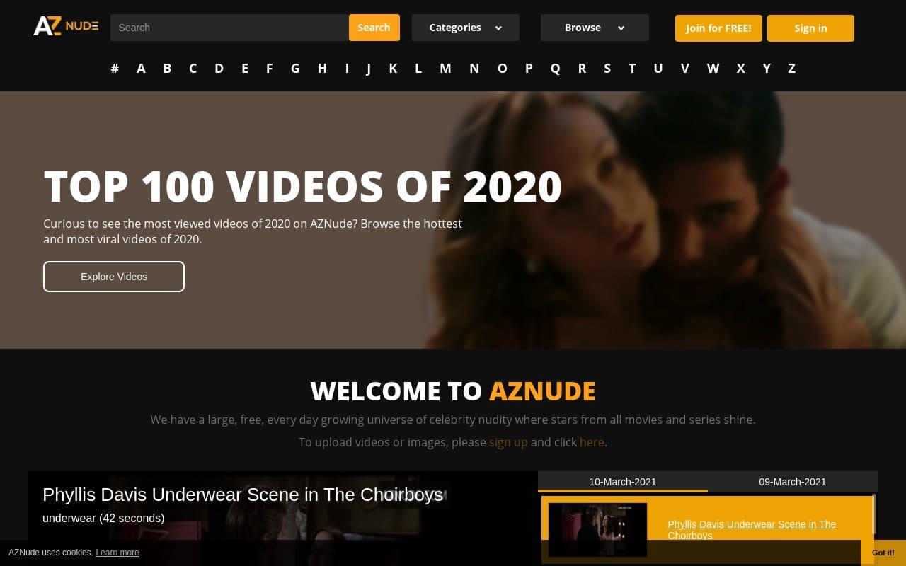 Aznude - Best  List