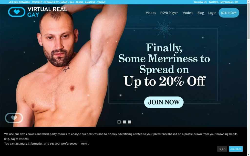 Virtual Real Gay -  List