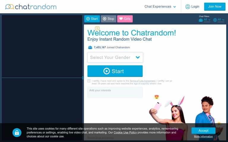Chatrandom -  List