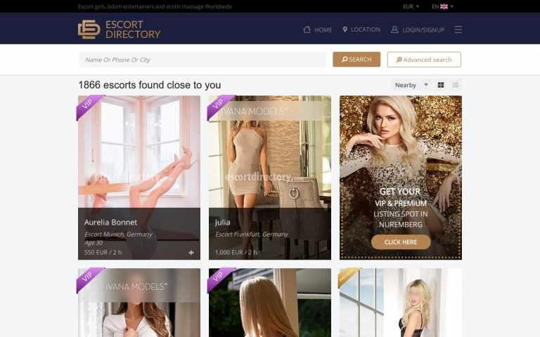 Escort Directory -  List