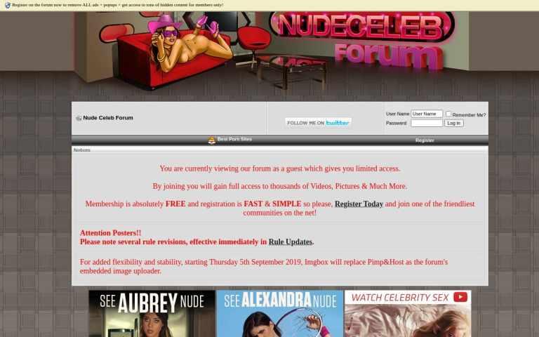 Nude Celeb Forum -  List