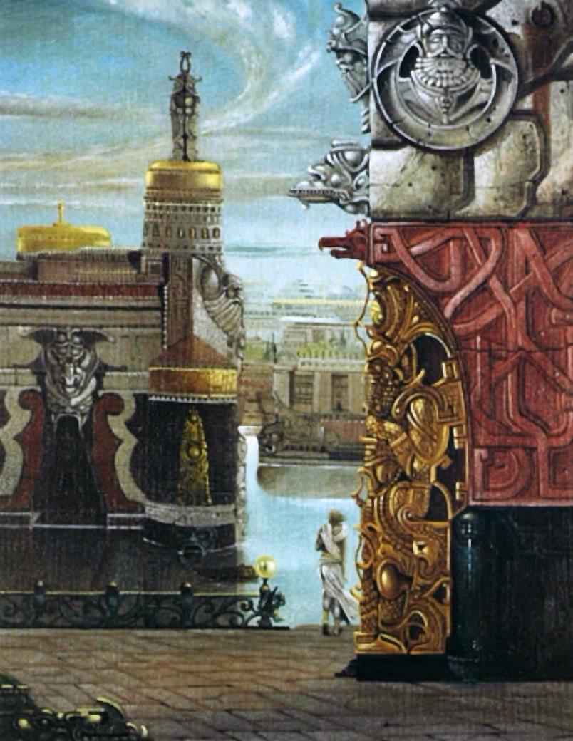 Atlantis nördliche Stadt