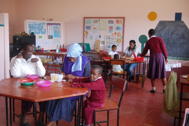 Aktivitetstid i skolestua