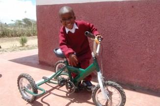 Vårt siste produkt: Kjede/bakhjulsdrevet trehjulsykkel