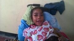 Vivian har tross sitt alvorlige handikapp fått ett godt liv hos søster Batilda
