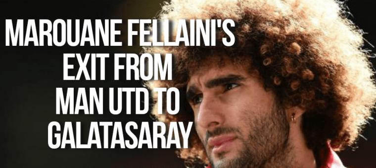 Manchester United's Marouane Fellaini rumoured to be going to Galatasaray