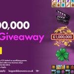 bet365bingo 's £1,000,000 Slots Giveaway