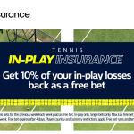 In-Play Tennis Betting Insurance